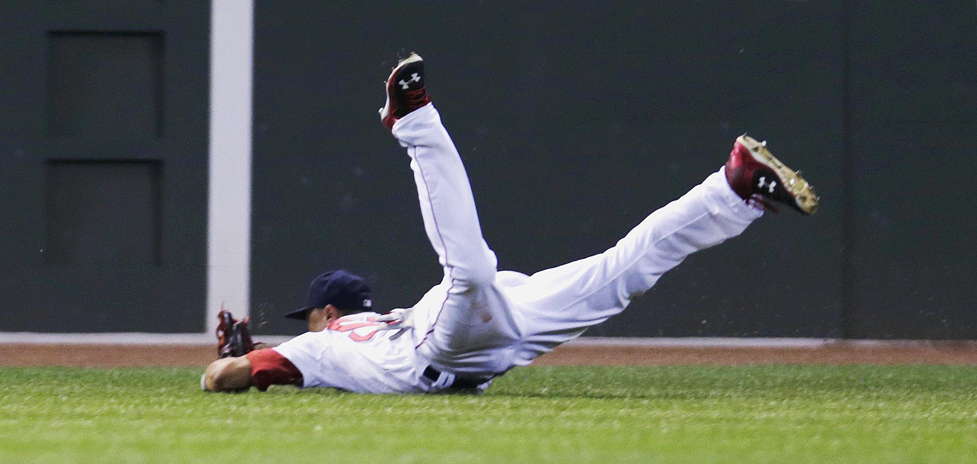 Mookie Betts, Aug. 17, 2015.