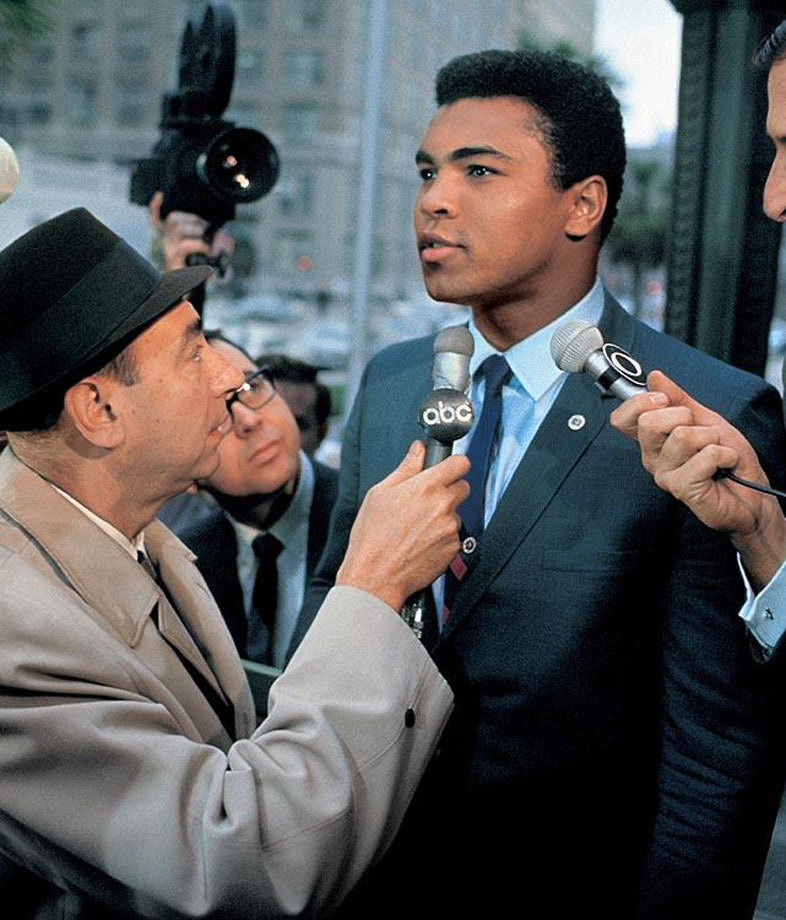 Perhaps no sports suspension was more controversial—or longer—than Ali's 3½ years away from the ring for refusing induction into the U.S. Armed Forces in spring 1967. The heavyweight champion's stand, based on his Muslim religious principles, was eventually upheld by the Supreme Court in a unanimous decision but Ali lost prime years of his boxing career.