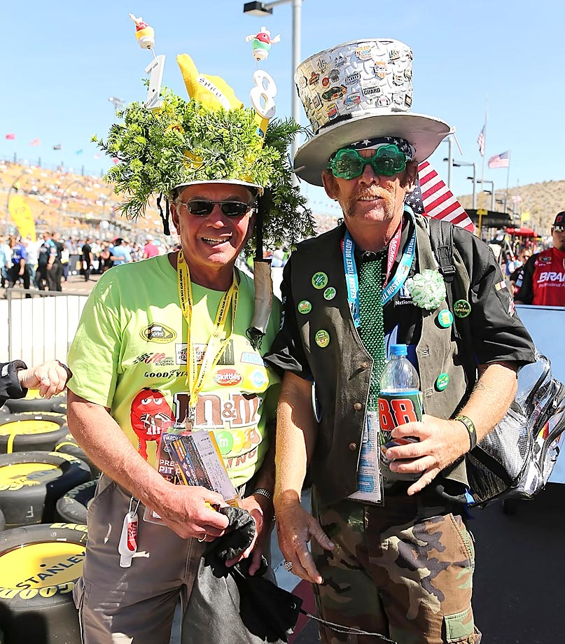 NASCAR fans in Phoenix.
