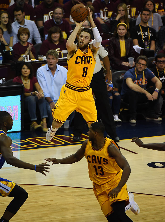 SI's Best Photos from Game 3: Matthew Dellavedova rose to the occasion again for the Cavaliers in Game 3, scoring 20 points and making several hustle plays to help Cleveland win 96-91 to grab a two games to one lead in the NBA Finals.