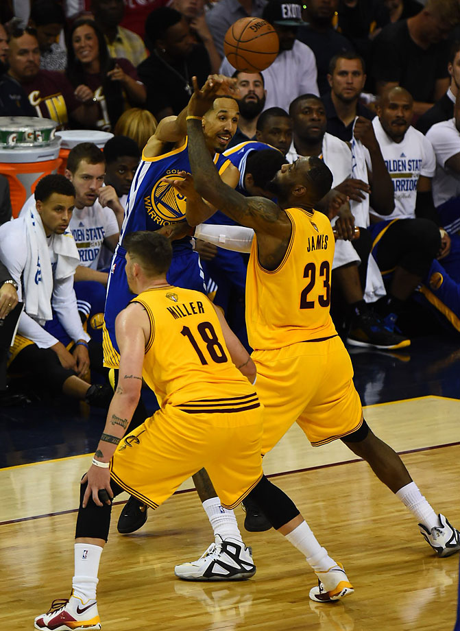 Cleveland held the NBA's highest scoring team to a measley 37 points in the first half.