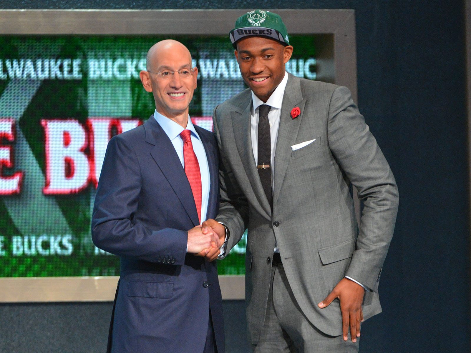 2015 NBA Mock Draft 1.0: Karl-Anthony Towns, Jahlil Okafor ... Jabari Parker Nba Draft