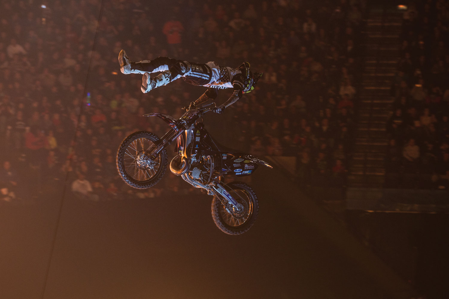 With stops left in Tacoma, WA (April 5-6), Houston, TX (April 12-13) and Duluth, GA (April 26-27) there's still time to catch one of the greatest motocross performances in the world.