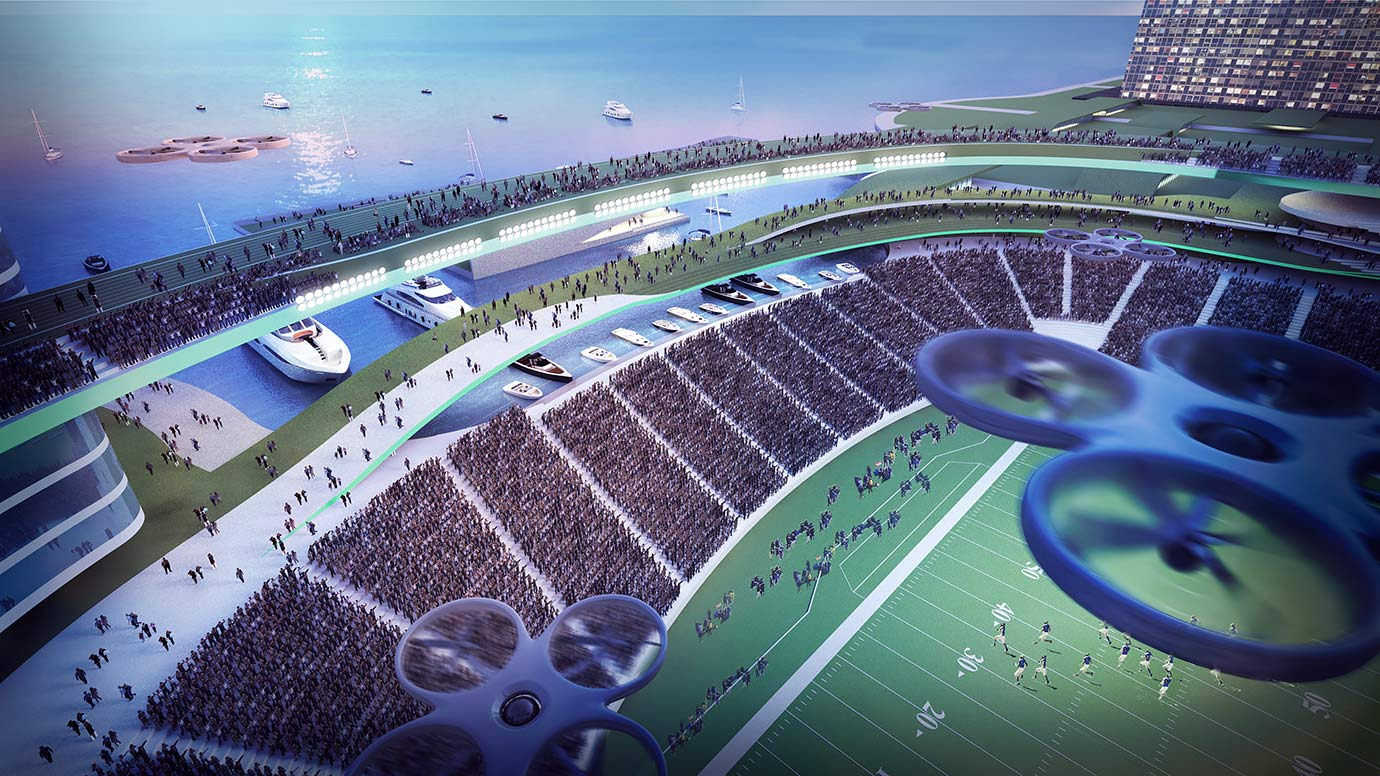 what do drones with Super Bowl 100 Stadium on Kc 390 O Ceu E O Limite additionally Rockwell Collins Hgs furthermore LibertarianWallpapers moreover Flowering Banana Tree likewise Super Bowl 100 Stadium.