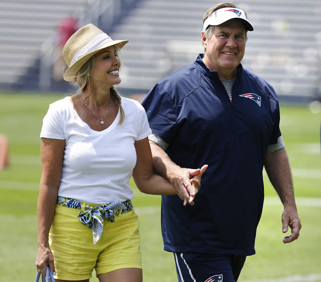 Bill Belichick and girlfriend Linda Holliday