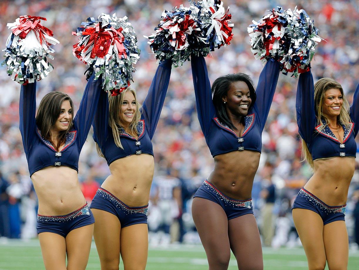 Nackte Bilder New England Patriot Cheerleadern