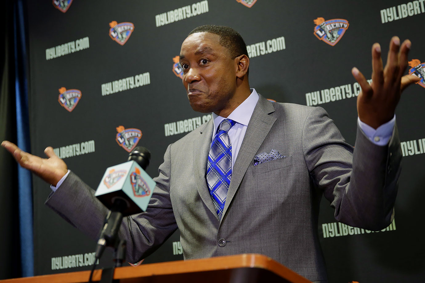 I'm not entirely sure Isiah Thomas still doesn't control this team.