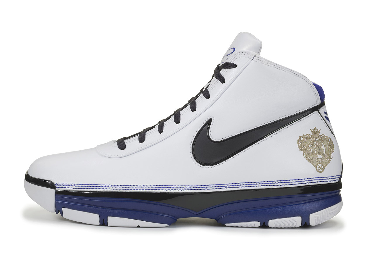 The second Kobe signature from Nike took on a bit more style, adding in patterns and straps, but keeping the overall silhouette of the signature line relatively in tact. This signature shoe debuted in 2007.