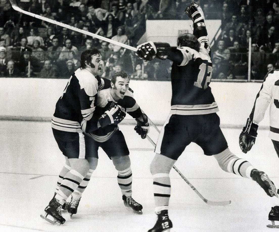 The Big Bad Bruins' explosive trio of the late 1960s and mid-'70s propelled Boston to two Stanley Cups.