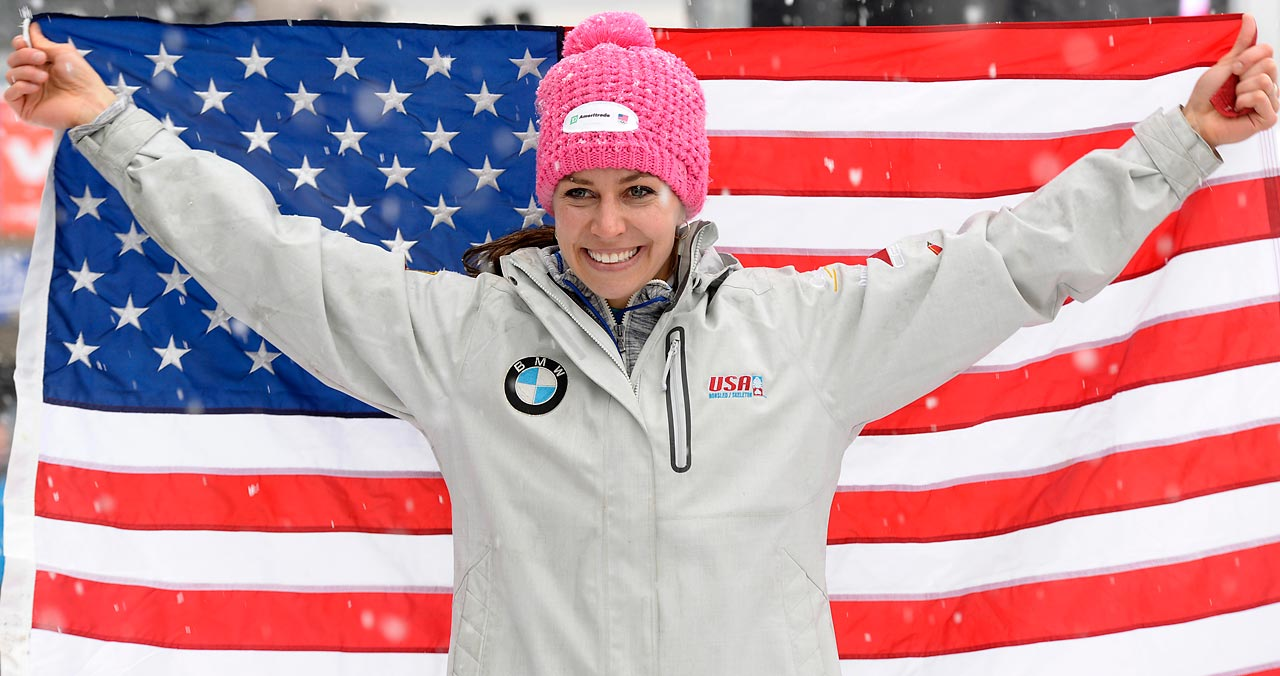Pikus-Pace is looking to follow up a fourth-place finish in Vancouver with a medal this time around in Sochi. She earned a spot on this year's Olympic team just a year after the birth of her son, Traycen. Noelle Pikus-Pace's Facebook page.