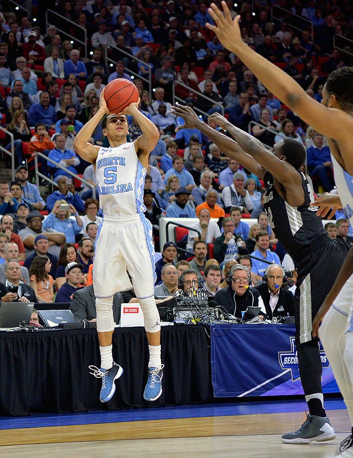 All season long, three point shooting has been the Tar Heels fatal flaw. As good as they are inside with Brice Johnson and Justin Jackson, their 31.4% rate from behind the arc, which ranks 308th in the country, will ultimately catch up to them.