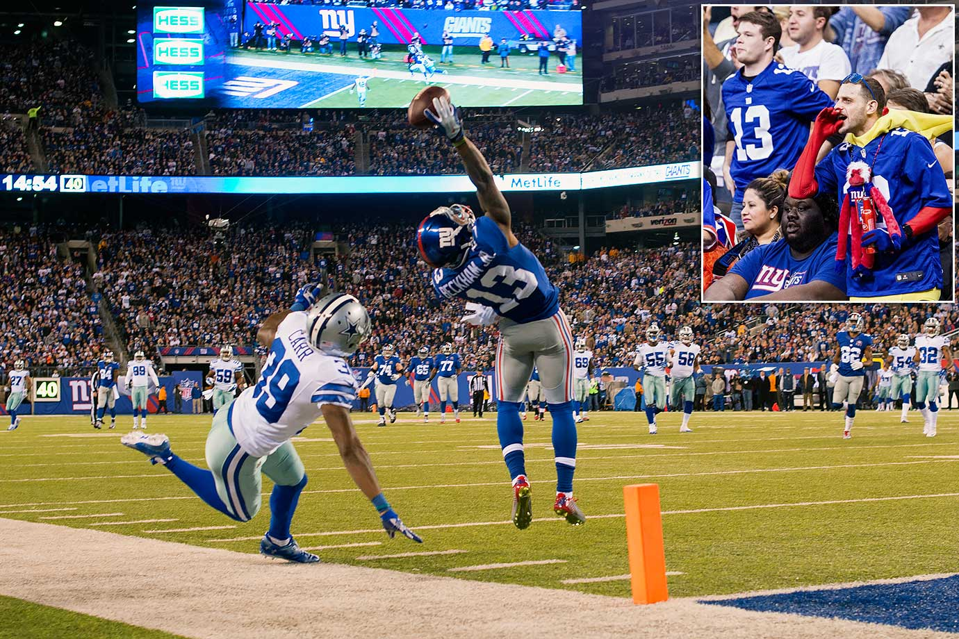 WR, New York Giants