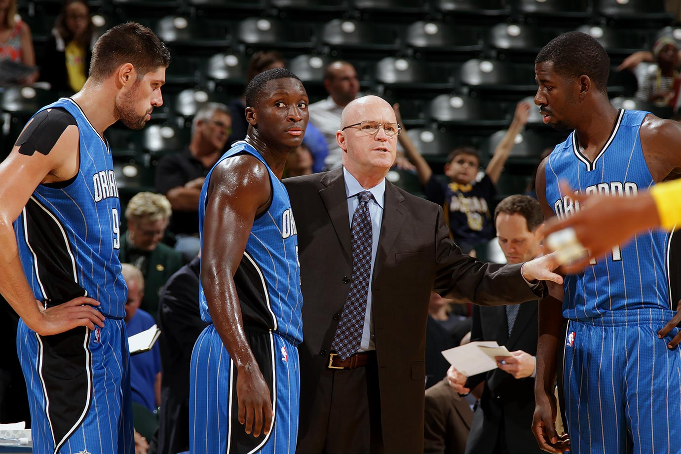 You only hire Scott Skiles so you can fire him in three                      years to give your team a huge morale boost.