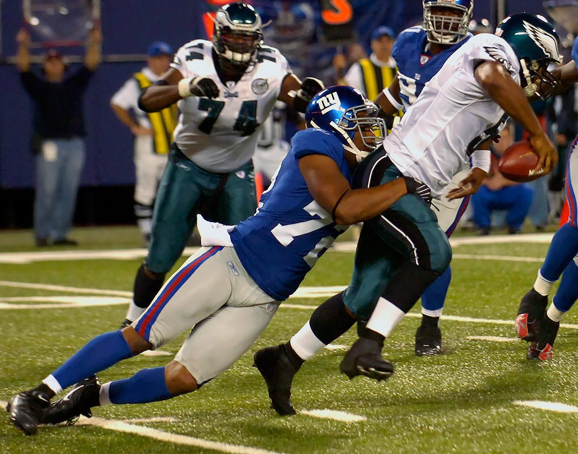 September 30, 2007 — New York Giants vs. Philadelphia Eagles