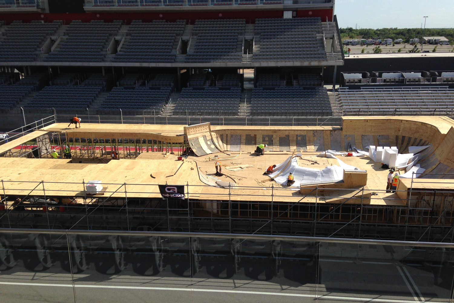 Going behind-the-scenes at X Games Austin (Photo courtesy of ESPN Images)