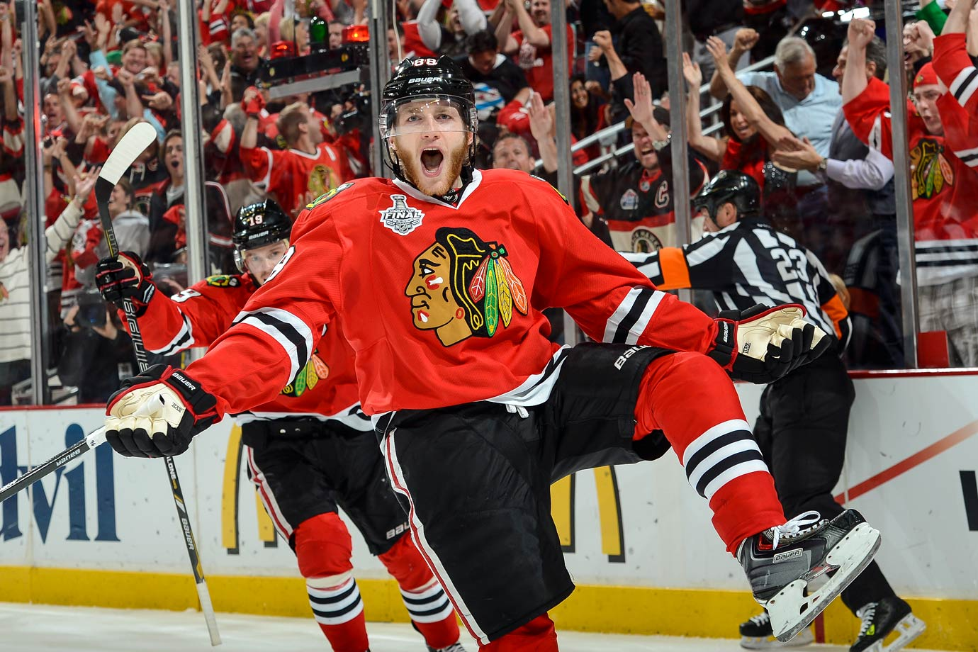 The 2007-08 Rookie of the Year and 2013 Playoff MVP, Patrick Kane helped bring three Stanley Cups to Chicago. The No. 1 overall pick in the 2007 NHL Draft, Kane is a five-time All-Star while averaging a point per game through nine NHL seasons.