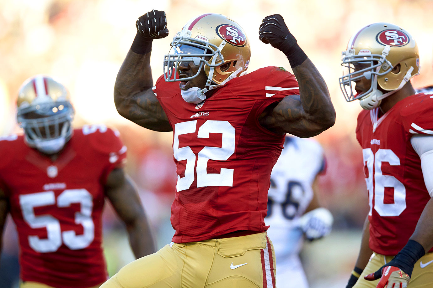 Seven-time Pro-Bowler Patrick Willis surprised the football world with his teary March 11 retirement announcement. The 49ers linebacker called it quits after only eight seasons, following a 2014 campaign in which a toe injury forced him to miss all but six games. The captain and anchor of a daunting San Francisco defense, he retired with 732 tackles, five All-Pro selections and an appearance in the 2013 Super Bowl.