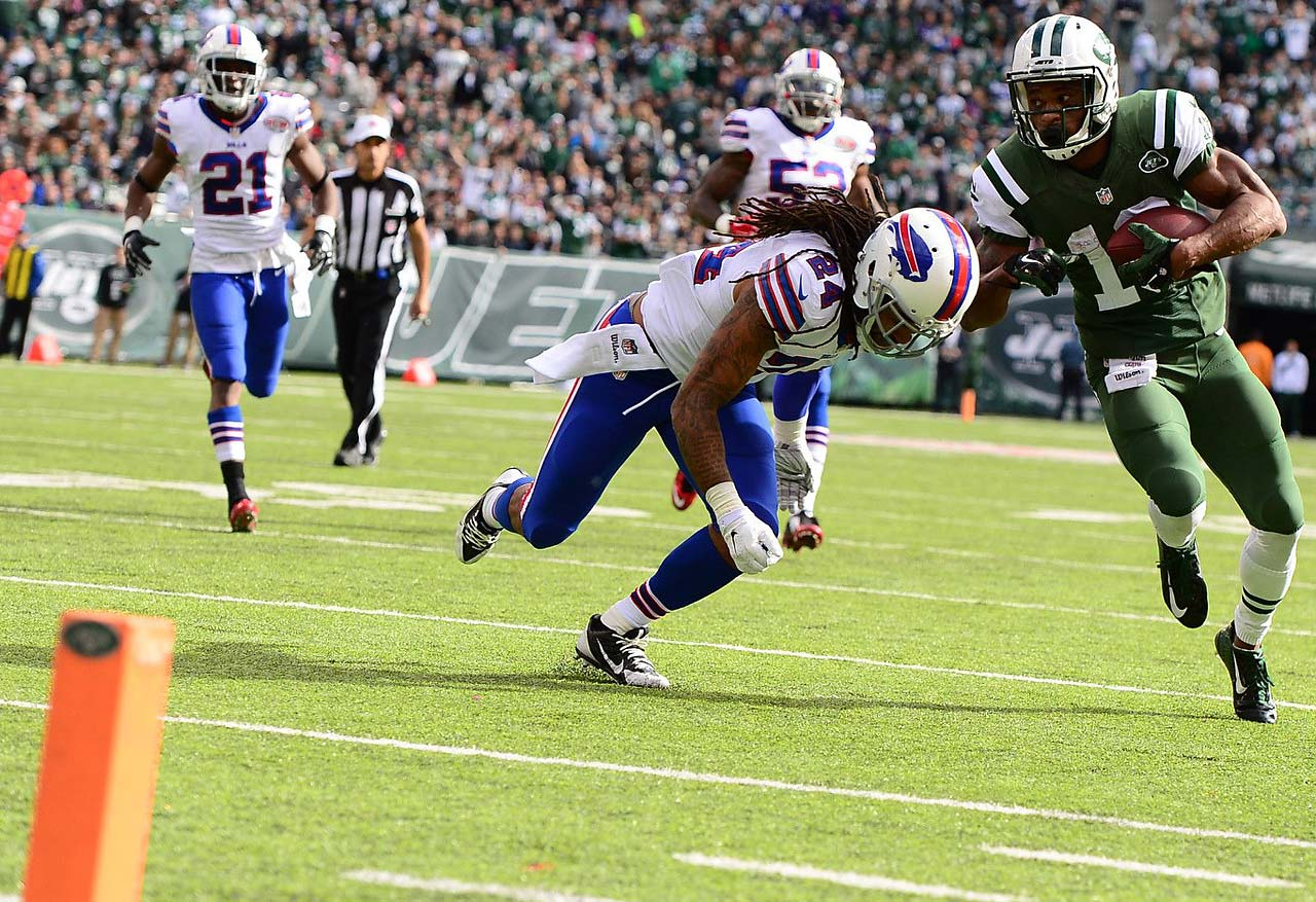 Old team: Jets; New team: Bills