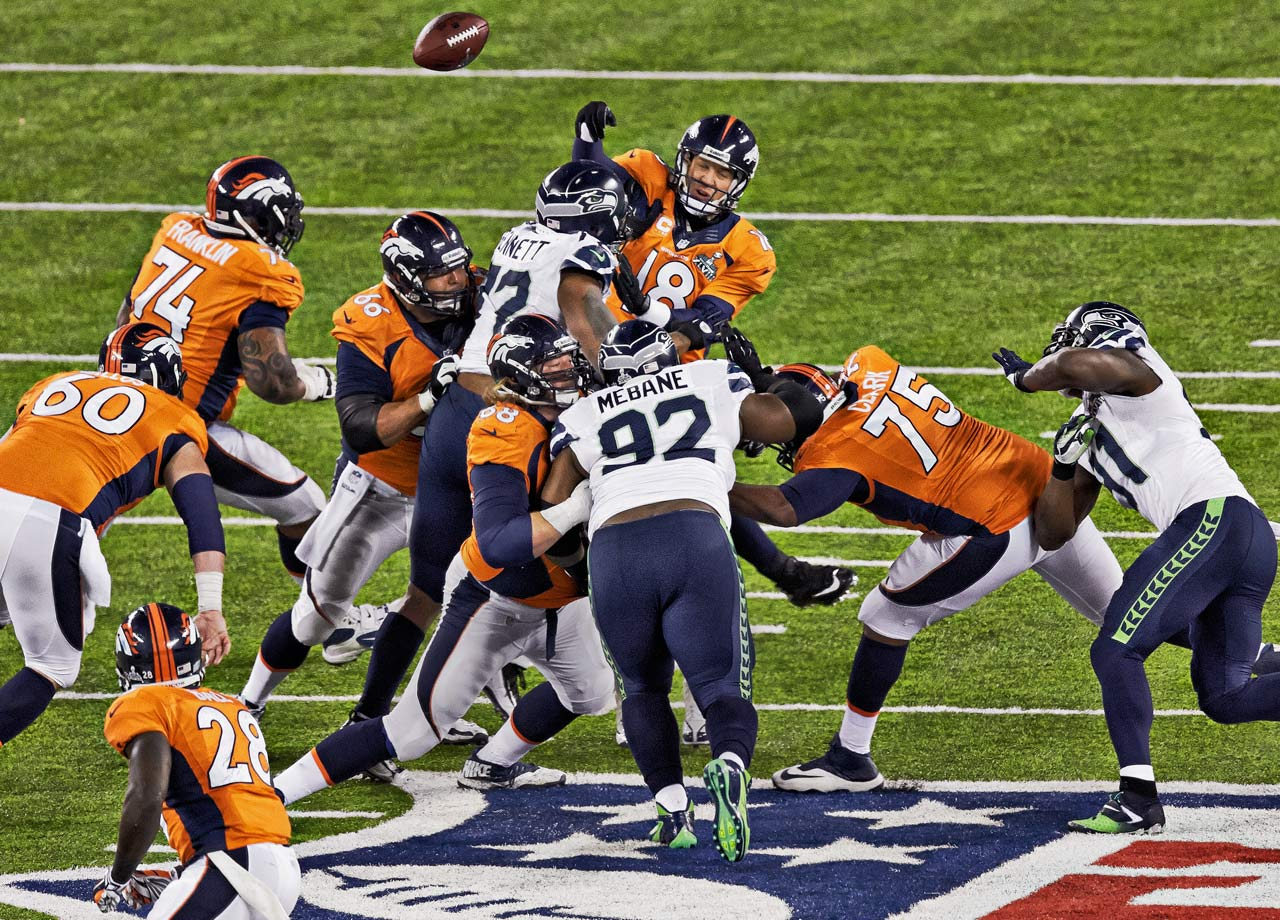 In one of the most hyped matchups in recent memory, the Seattle Seahawks end up surprising the world and blowing out Peyton Manning and the Denver Broncos in Super Bowl XLVIII 43-8.