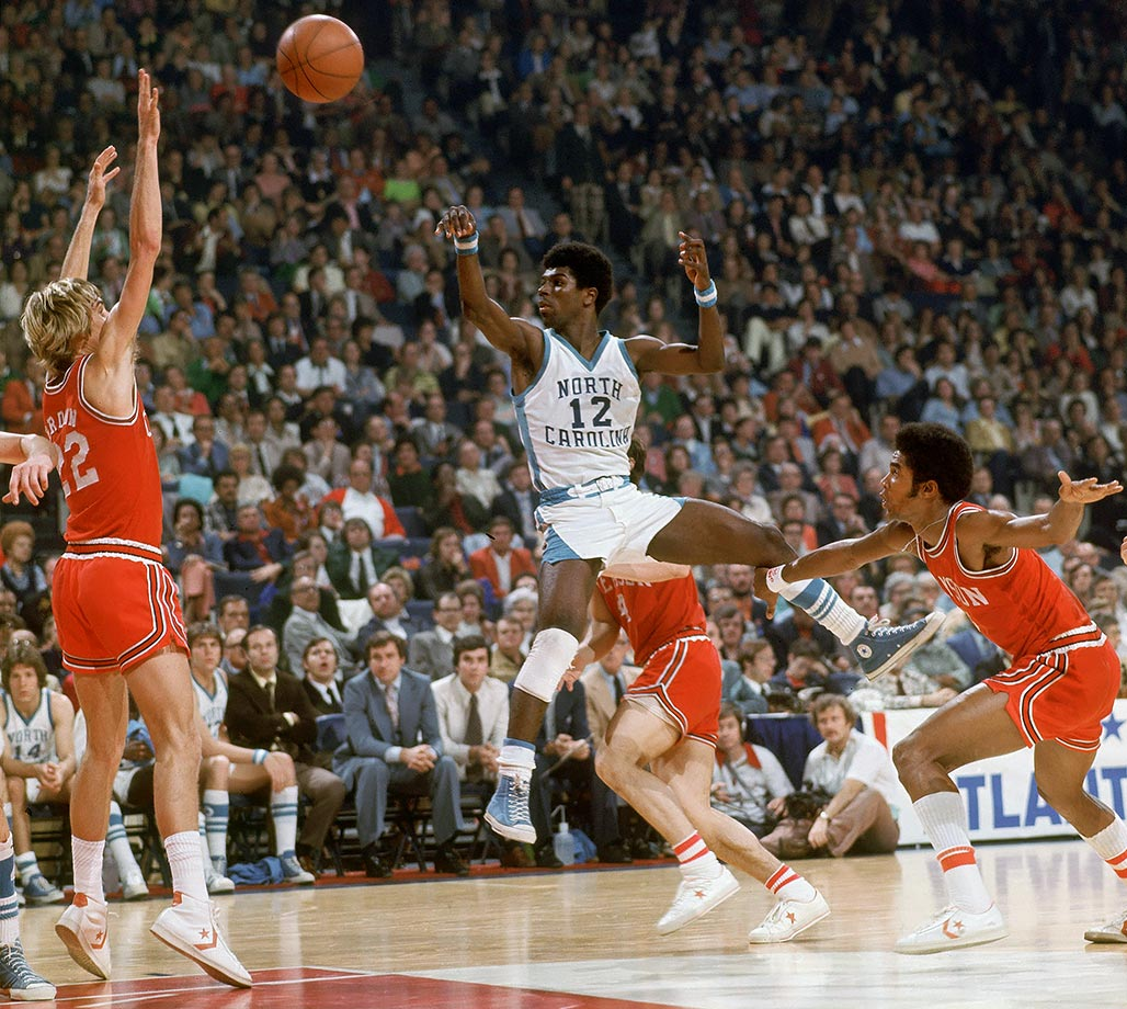 One of only three players in ACC history to score 2,000 points and dish out 600 assists, Ford was dangerous with the ball in his hands. He became the first freshman to win ACC Tournament MVP in 1975, and he helped the Tar Heels reach the NCAA championship game in 1977. Ford's school record for points -- 2,290 -- stood until Tyler Hansbrough finally broke it.