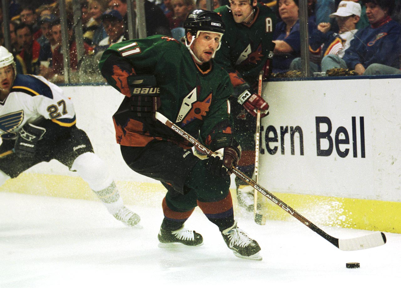 The Coyotes wore these Picasso-inspired third jerseys for five seasons.