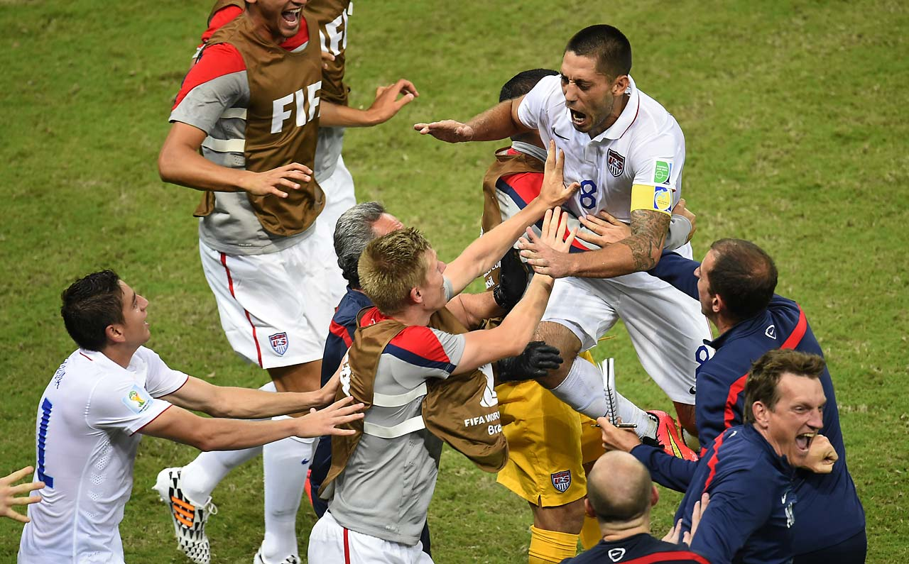 Dempsey has now scored in both of the U.S. matches, with a Thursday showdown with Germany looming.