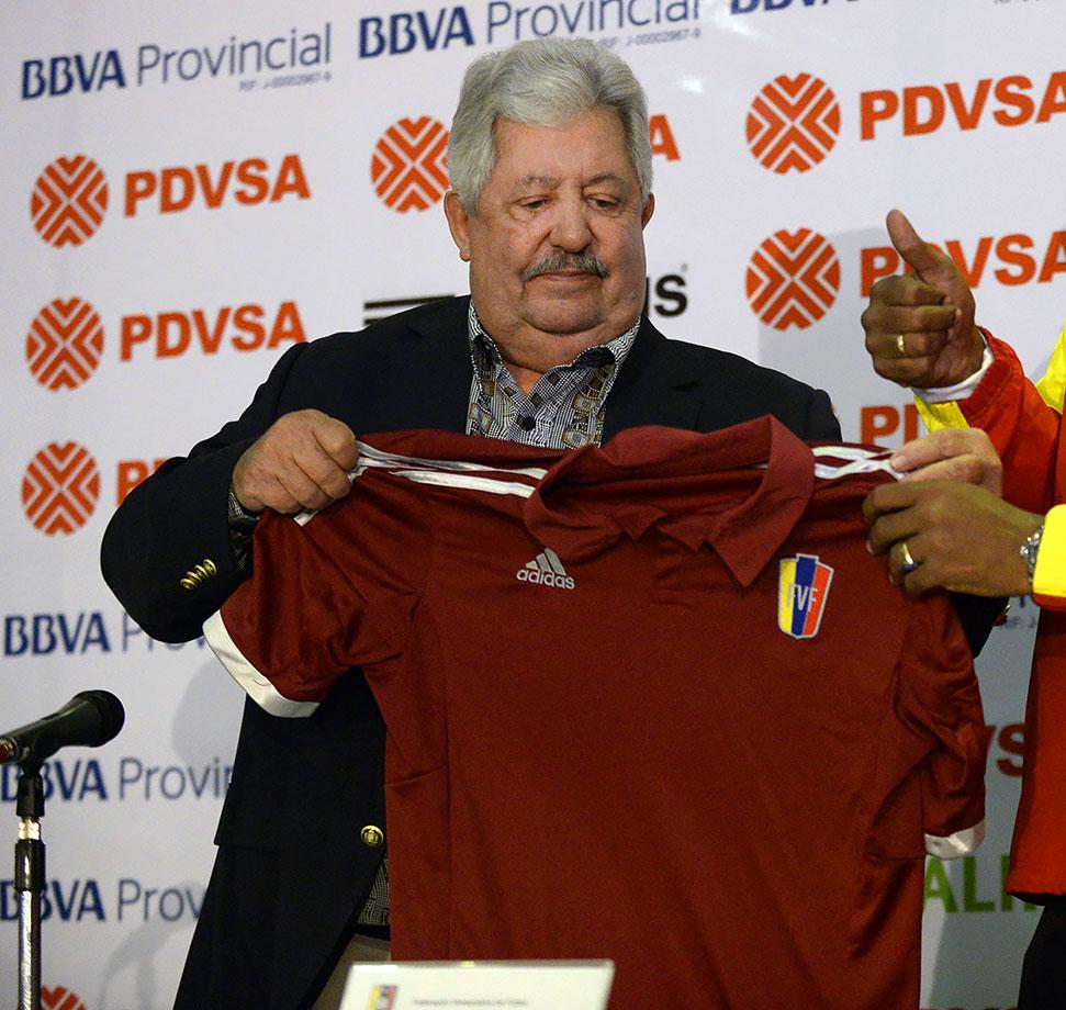 Ex–Venezuela federation president; CONMEBOL executive committee