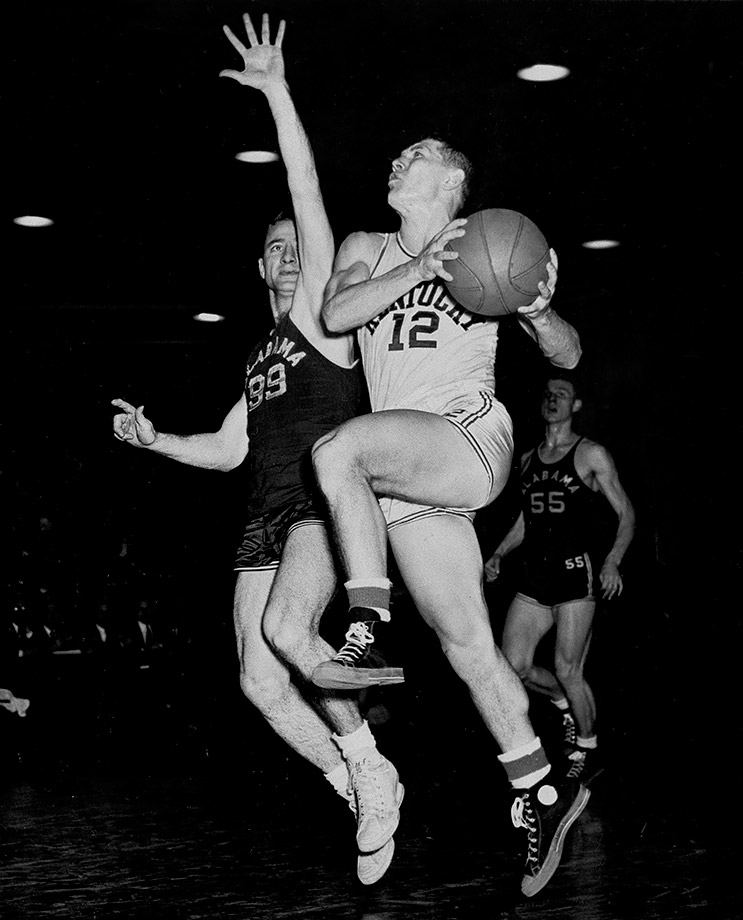 "Tainted forever by his involvement in a point-shaving scandal, Beard was also a crucial member of Kentucky's ""Fabulous Five"" -- the nickname for the five starters of the 1947-48 teams. Beard led Kentucky in scoring as a junior as he won the first of his two national titles. During that stretch, the Wildcats lost just five games."