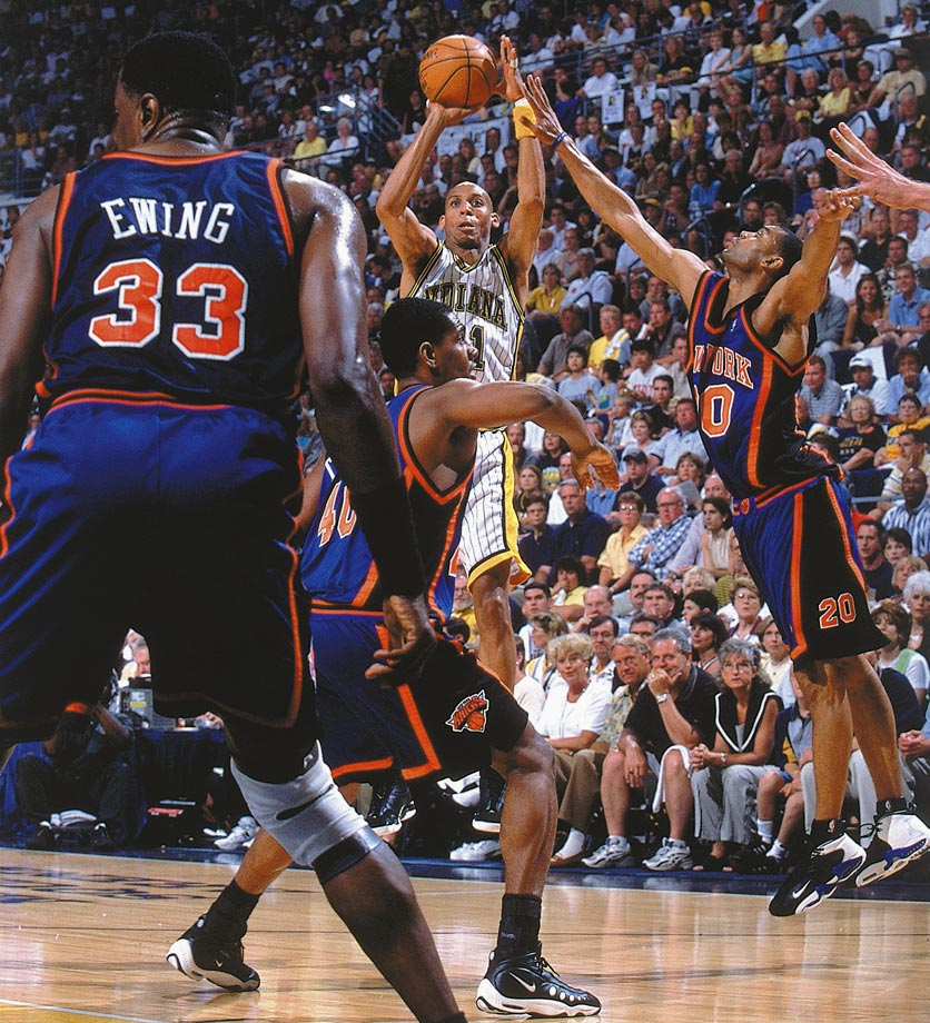 If you don't believe Reggie Miller is clutch, you should go ask Spike Lee.  It says something that even though Miller played his entire career for Indiana, he delivered the most memorable Madison Square Garden performances of anyone this side of Willis Reed.