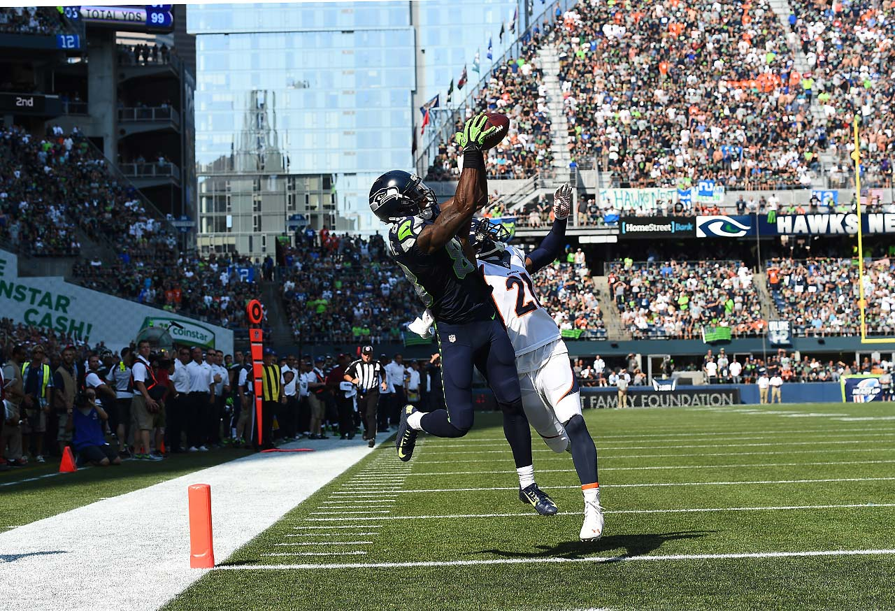 Ricardo Lockette had only one reception against Denver, this 39-yard score.