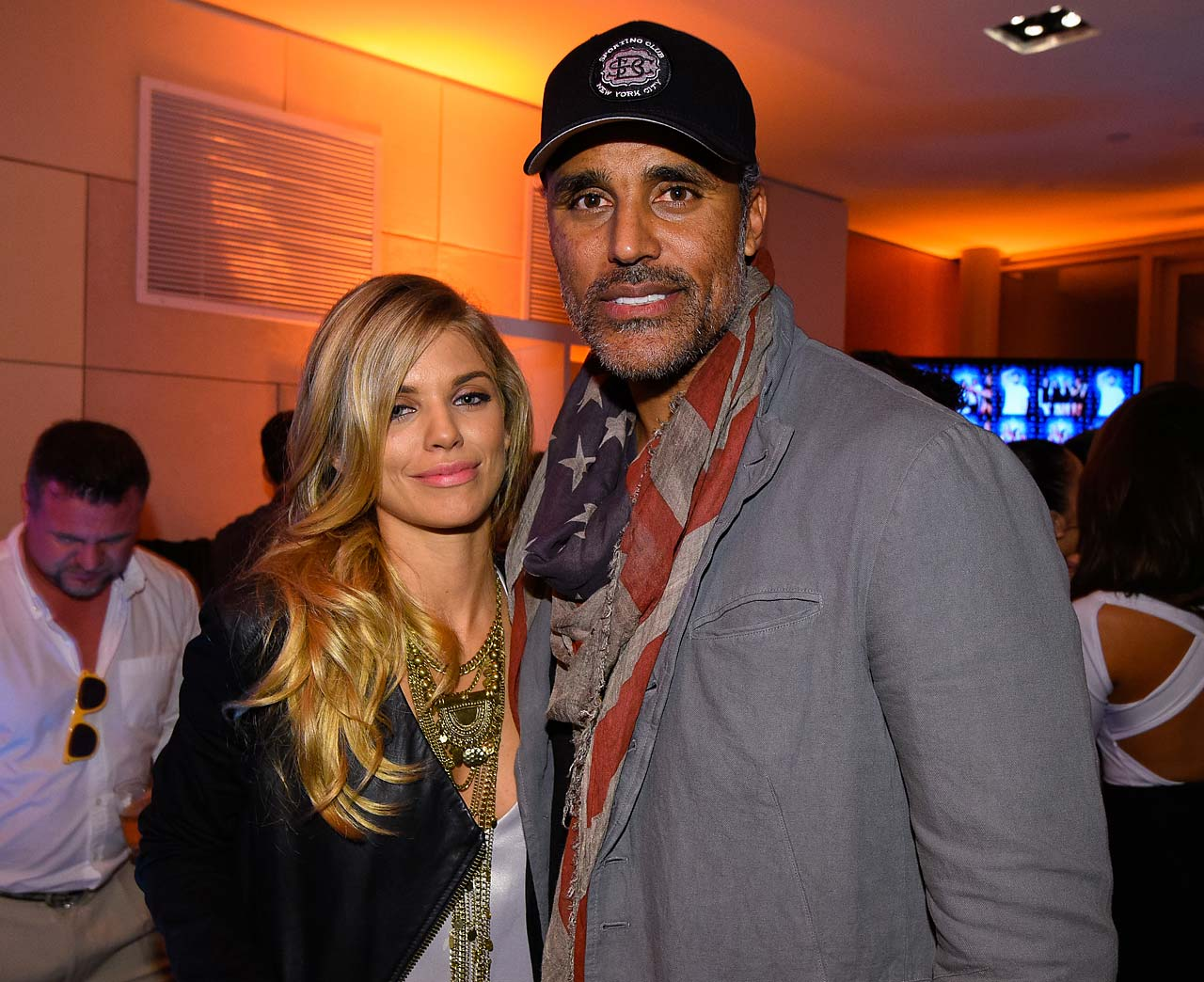 Anna Lynne McCord and Rick Fox