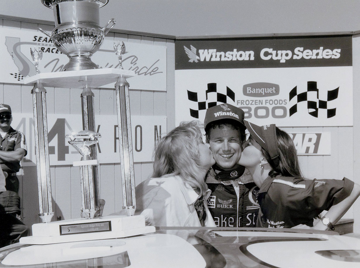 This race marked the NASCAR Sprint Cup Series' first ever visit to what is now Sonoma Raceway, then known as Sears Point Raceway. Rudd edged out fellow competitors Rusty Wallace, Bill Elliott and Dale Earnhardt – all now members of the NASCAR Hall of Fame – to take home the trophy.
