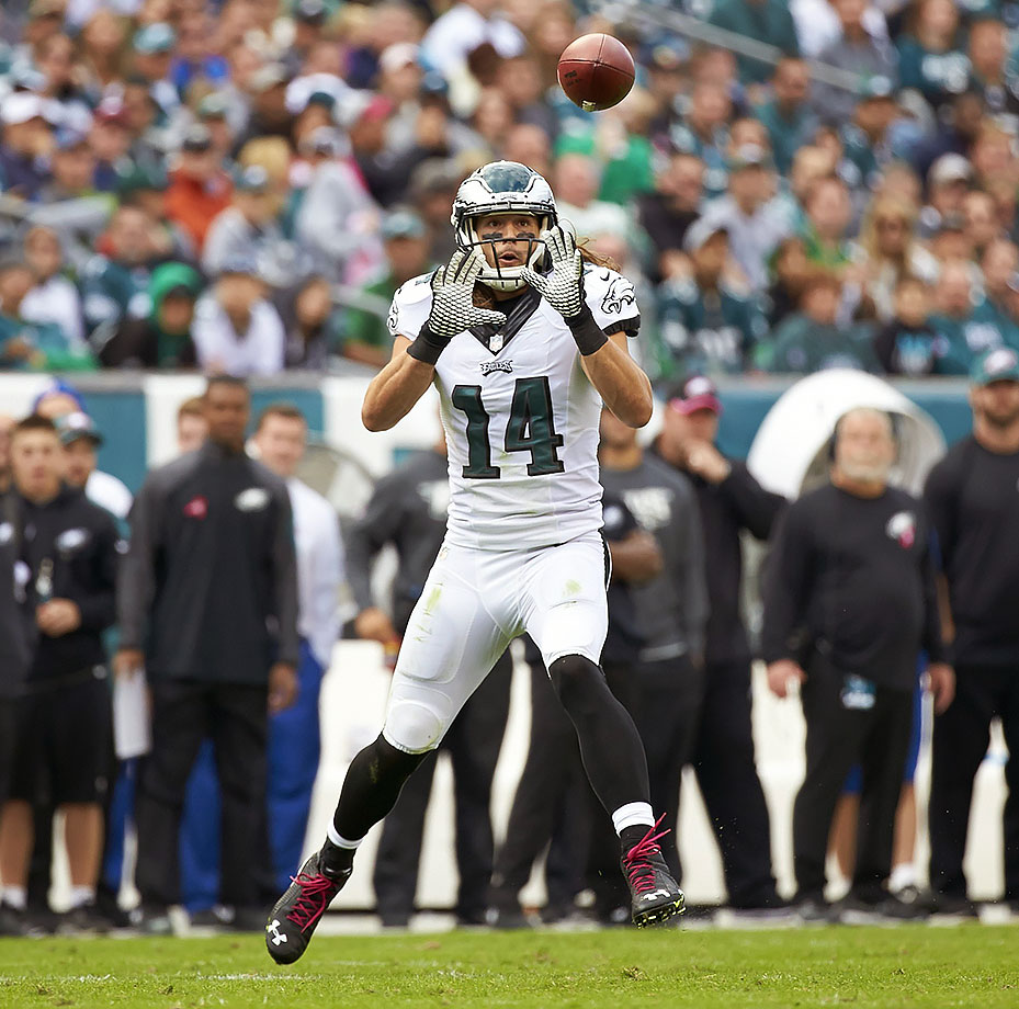 The Eagles released veteran receiver Riley cooper after his second-straight down year. The 28-year-old Florida alum had only two touchdowns on 21 receptions, his fewest since 2011.