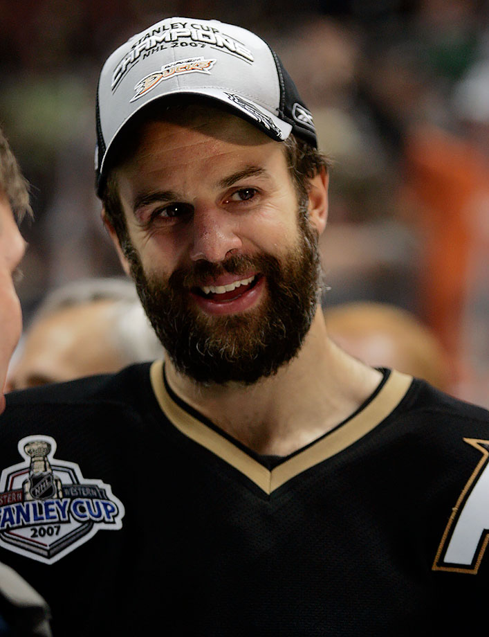 """Is that a beard, or is [Rob] Niedermayer eating a muskrat?"""