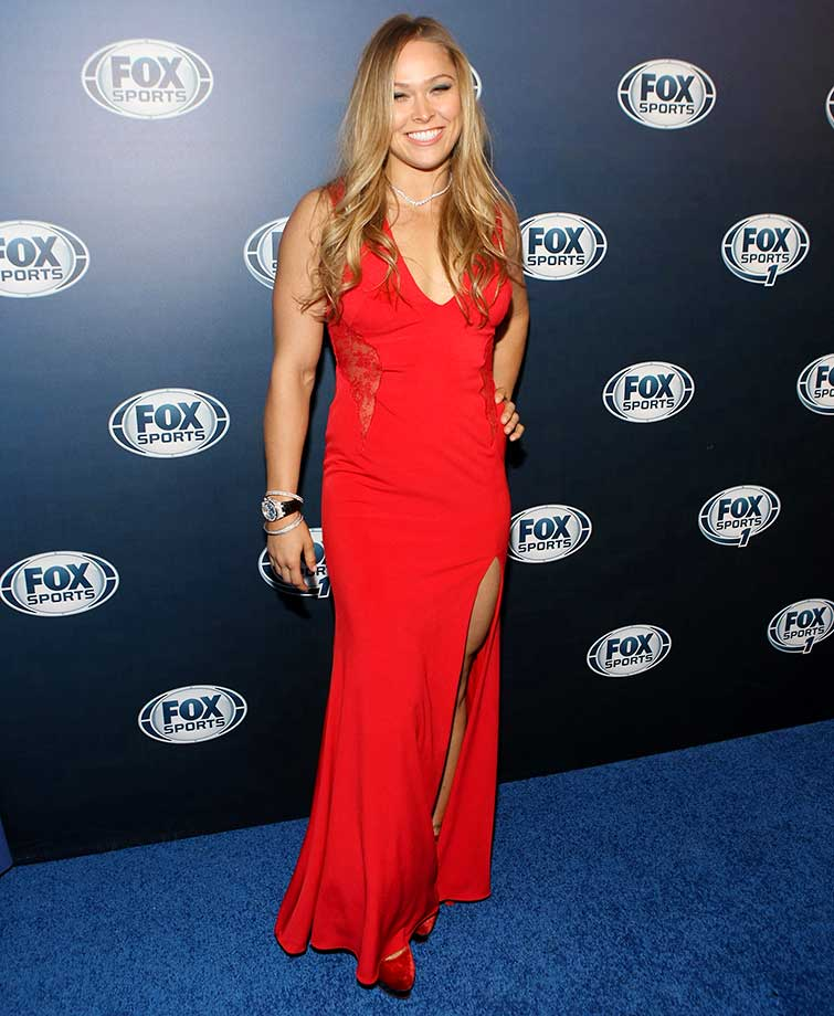 Ronda Rousey: Getty Images