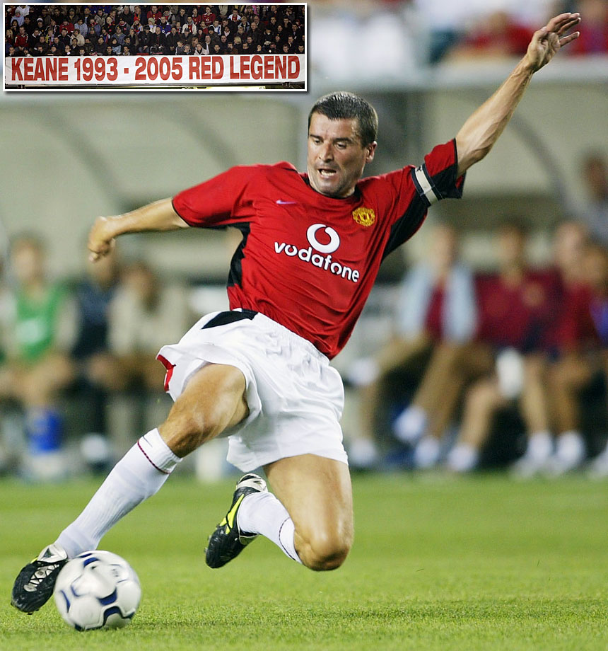The Irish midfielder captained Manchester United in the English Premier League from 1997 until he left the club in 2005. Keane guided the team to an incredible treble, winning the Premier League, the FA Cup and the UEFA Champions League in 1998-99. No team had ever won all three in the same season before. In his 12 full seasons with Manchester United, the club won seven Premier League titles, four FA Cups and the one Champions League. In international play, Keane was the top player for the Irish squad that reached the Round of 16 at the 1994 World Cup.