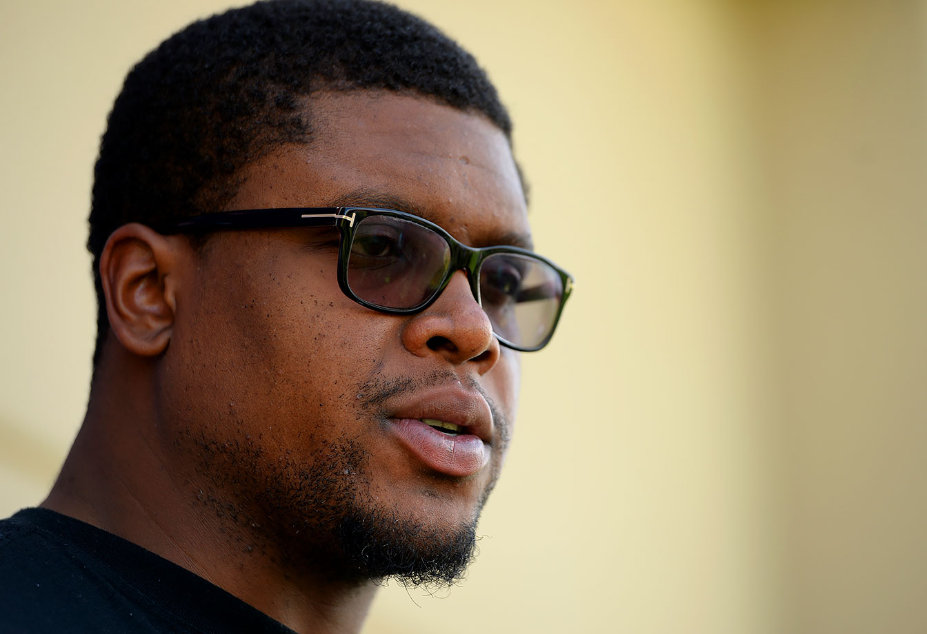 "To Broncos tackle Ryan Clady: ""Do you ever skip to the end of the playbook and read the last page as a spoiler?"""