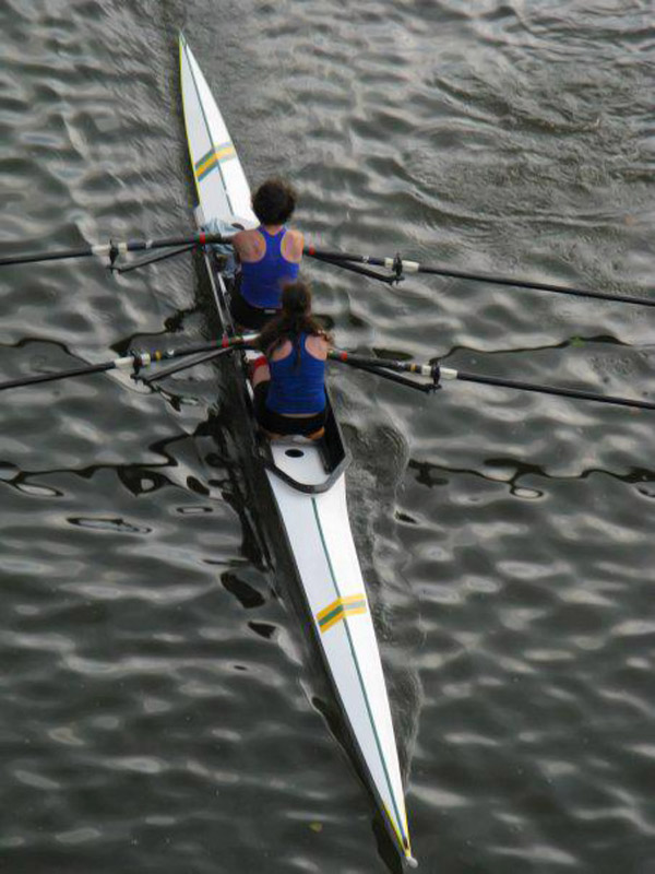@SINow #keepgoodgoing winning the mother-daughter Towpath regatta