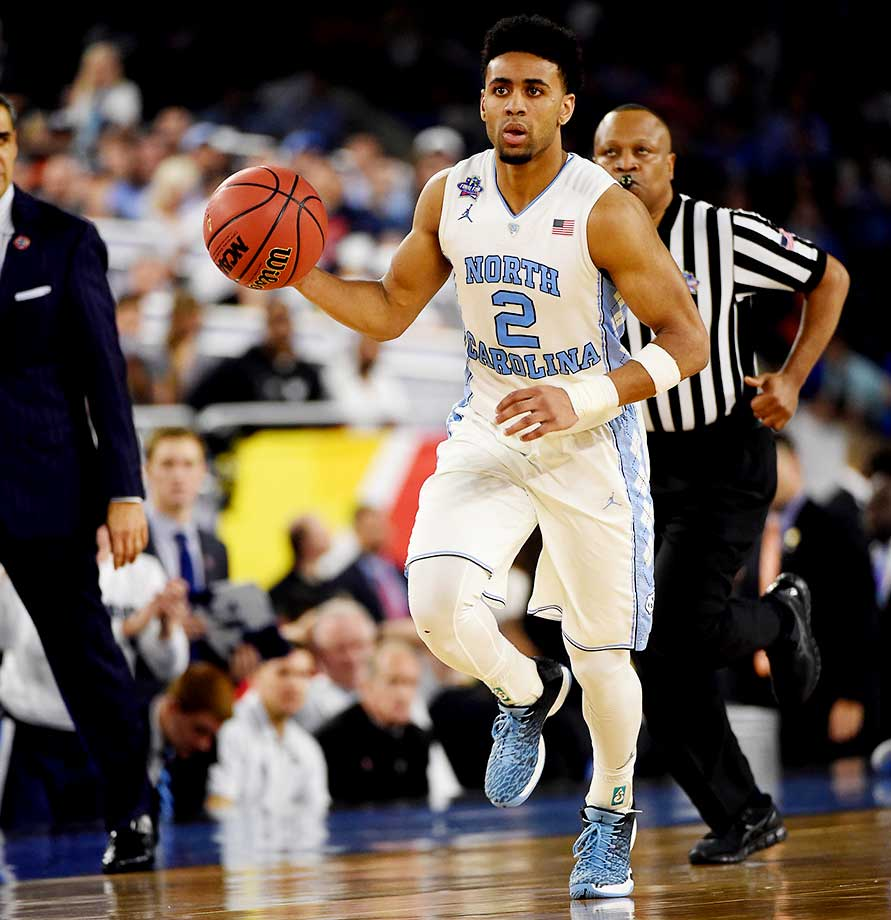Reserve Joe Berry II scored 20 points for North Carolina, 15 of those in the first half when he hit six of seven shots.