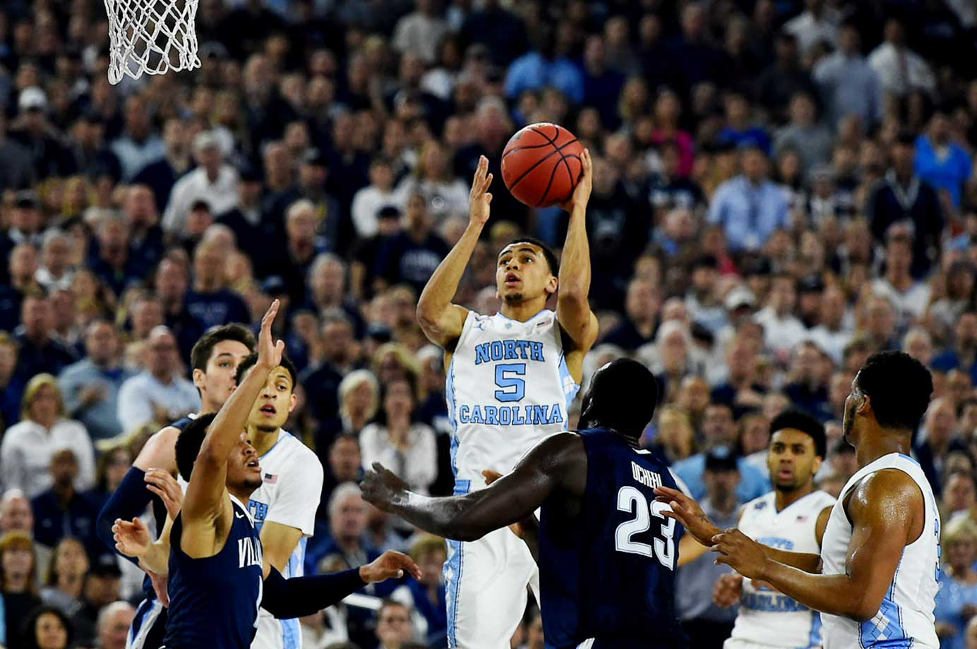 Marcus Paige led Carolina with 21 points.