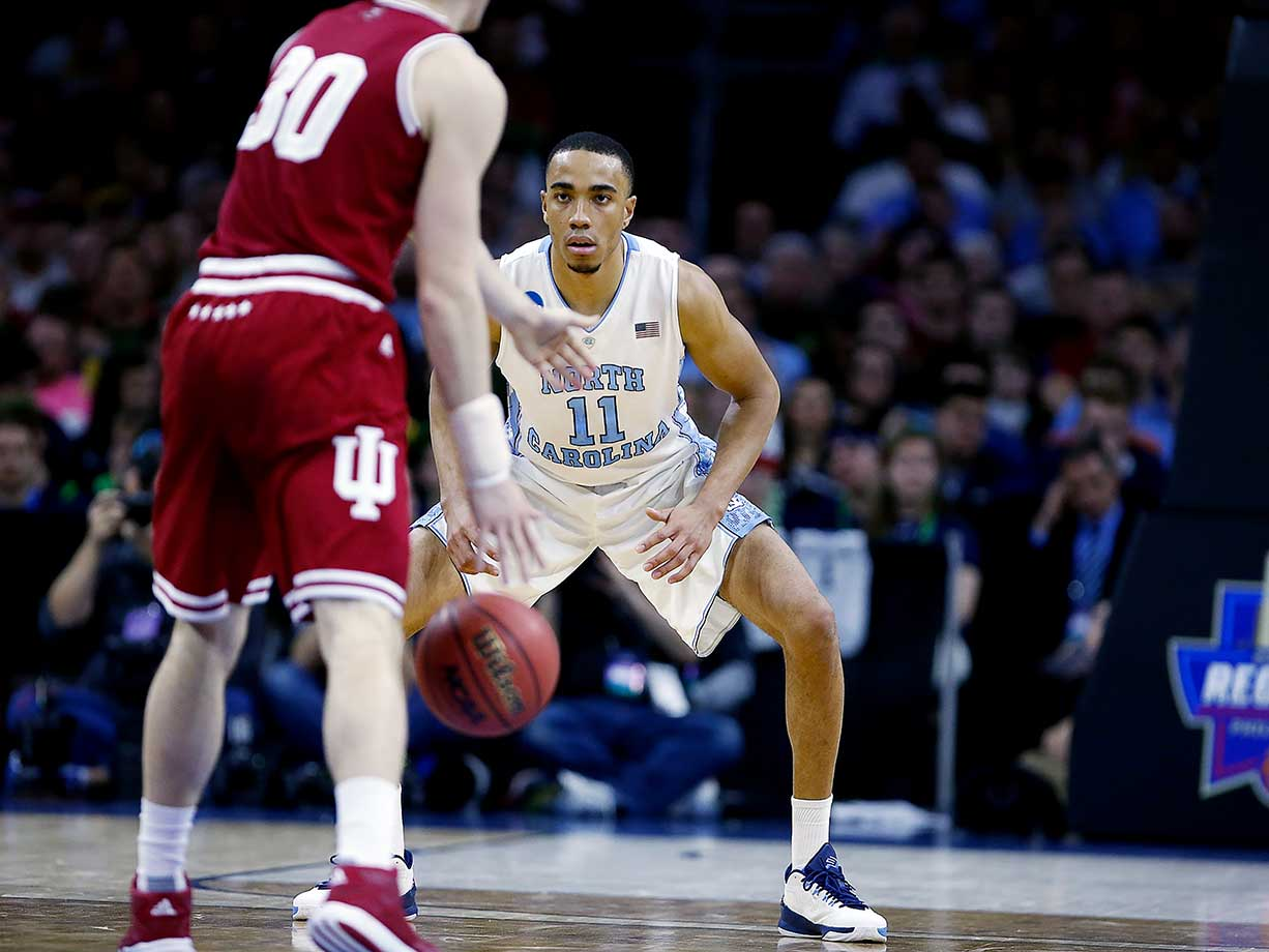 Brice Johnson and the North Carolina Tar Heels have been playing some of their best defense of the season during the NCAA Tournament.