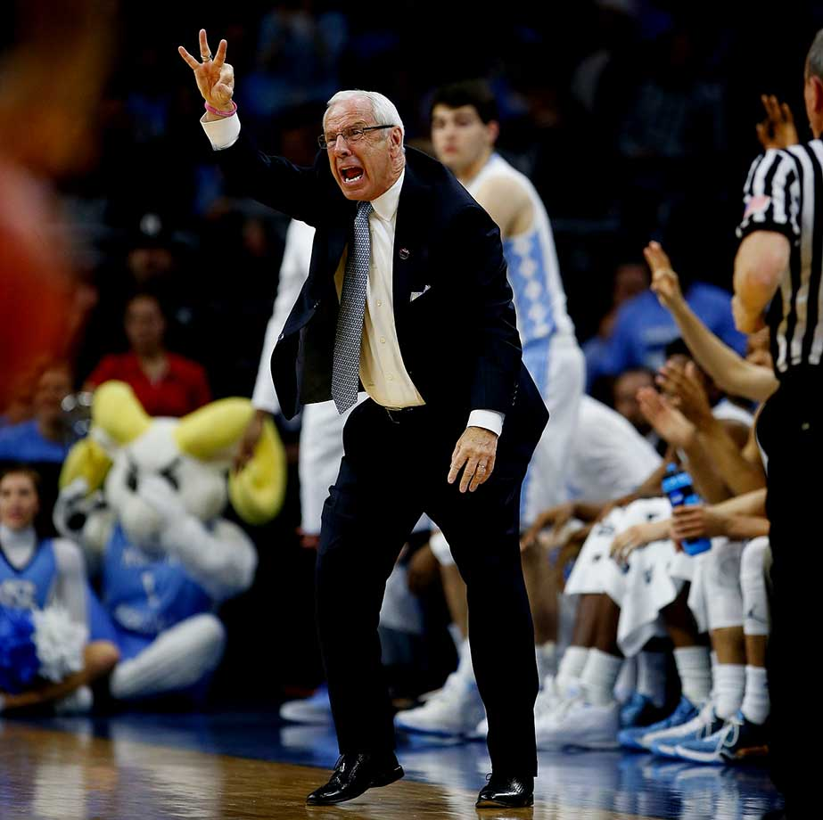 Roy Williams has North Carolina back in the Final Four for the first time since 2009 and for a record 19th time.