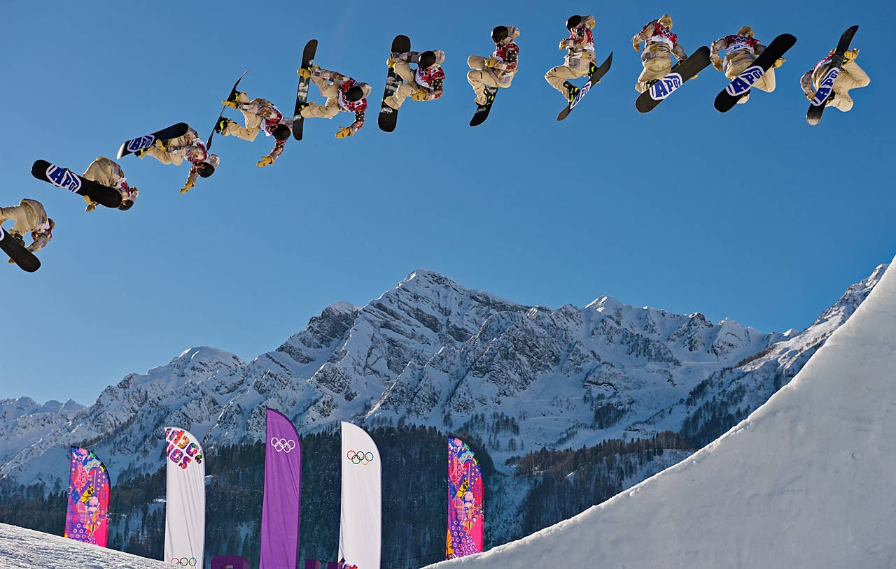 Sage Kotsenburg of the U.S. won gold in the slopestyle event.