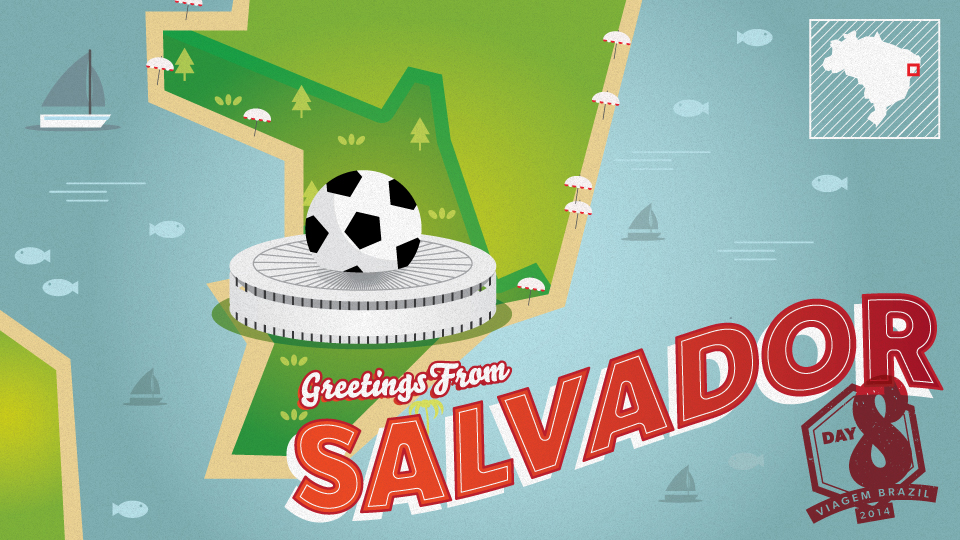 In this installment of Viagem Brazil, SI's Greg Bishop and Simon Bruty took on the city of Salvador.