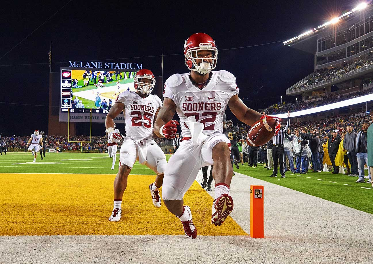 After rushing for a team-high 1,349 yards last year, Perine will enter his third year as a starter in 2016. The junior running back missed spring ball after getting ankle surgery, but he will be ready for the Sooners' season opener against Houston.