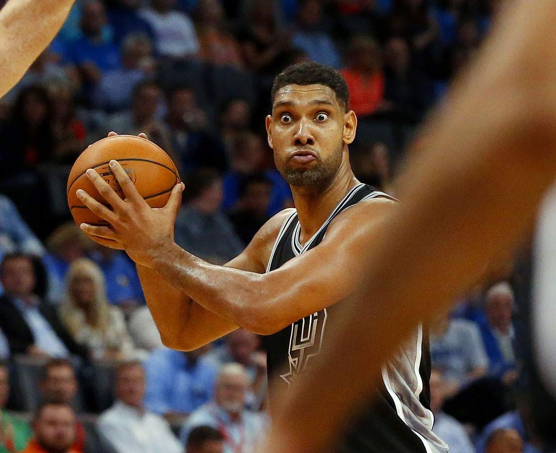 Whatever deal Tim Duncan made with the devil will eventually be exposed and he will be banned from basketball.