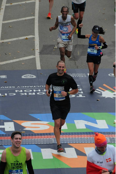 #fbf to the race of a lifetime! The build-up to #tcsnycmarathon was horrible as I dealt with an injury that forced me to discontinue running for 7 weeks. During the 5 weeks prior to NYC I was only able to run/walk and cover a maximum distance of 14 miles. Because of those circumstances, there were no time expectations going in. Here I am crossing the finish line in 3:31. I'm very proud of the perseverance I showed. I can honestly say that the special children at #HLVS kept me motivated during the 12 trying weeks. Over $6,600 raised!                   #marathontraining #5boroughsforthelittlevillage #findyourstrong #kinvara5 #feeturesrunning #justdoit #upformore #garmin620 #trainwithheart #runlikecrazy @runglirc @sportsillustrated #keepgoodgoing