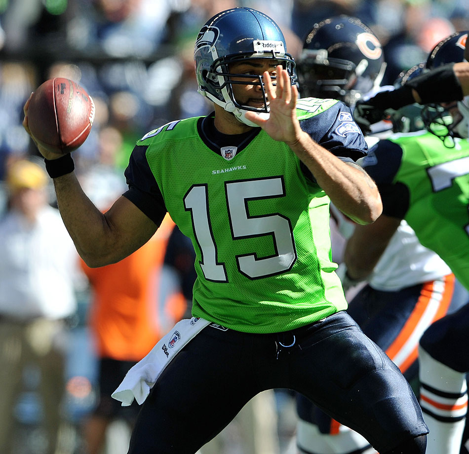 "The Seahawks opened eyes in 2009 when they debuted a lime-green jersey. They lasted one game and were dropped by then-coach Jim Mora because ""we didn't win in them."""