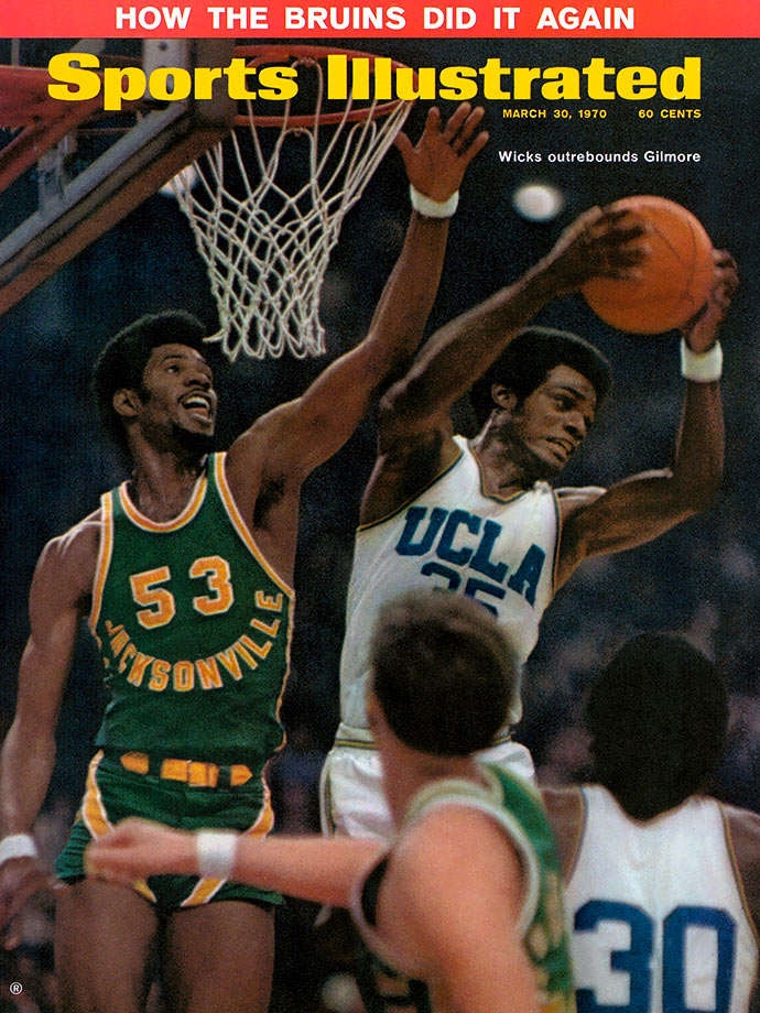 Unable to attend UCLA as a freshman because he didn't academically qualify, Wicks made up for lost time the following year, winning three national championships. Wicks led UCLA in scoring in his final two years and he led the Pac-8 in rebounding as a junior with 11.9 per game. During his three years, UCLA lost just four games. Wicks scored 17 points with a game-high 18 rebounds in the Bruins' 80-69 win over Jacksonville for the 1970 national championship, and he also played stellar defense on Jacksonville center Artis Gilmore, who had a five-inch height advantage. Wicks became an Academic All-America in 1971 in addition to a first-team All-America.