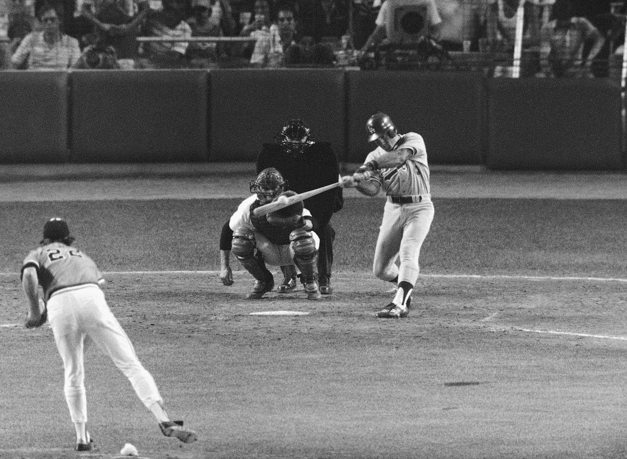 An All-Star in eight consecutive seasons for the Dodgers from 1974 to '81 and (less deserved) then for the Pirates in '84 and '85, Garvey thrived on the national stage. In his 10 All-Star games, nine of which he started, Garvey hit .393/.433/.821 in 30 plate appearances and became just the second player to win the game's MVP award twice. Garvey won his first MVP in his first All-Star Game, in 1974. His second MVP came in 1978, when he again played the entire game and went 2-for-3 with a walk, a two-run single in the third and a leadoff triple off future Hall of Famer Goose Gossage in the bottom of the eighth that helped break a 3-3 tie in a four-run inning. Garvey's .821 slugging percentage in All-Star competition is the highest for any batter with more than 22 plate appearances.